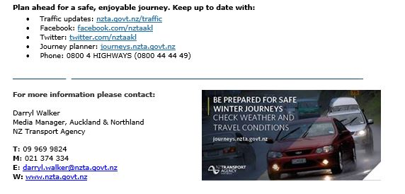 Nzta Road Conditions